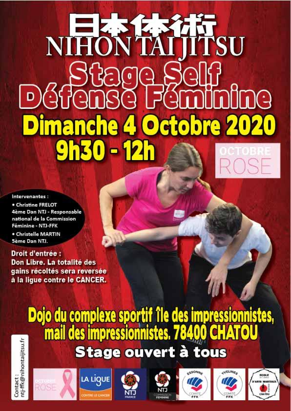 2020/10/04 Stage Self Défense
