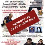 2021-04-24 et 25 Stage REPORTE BD