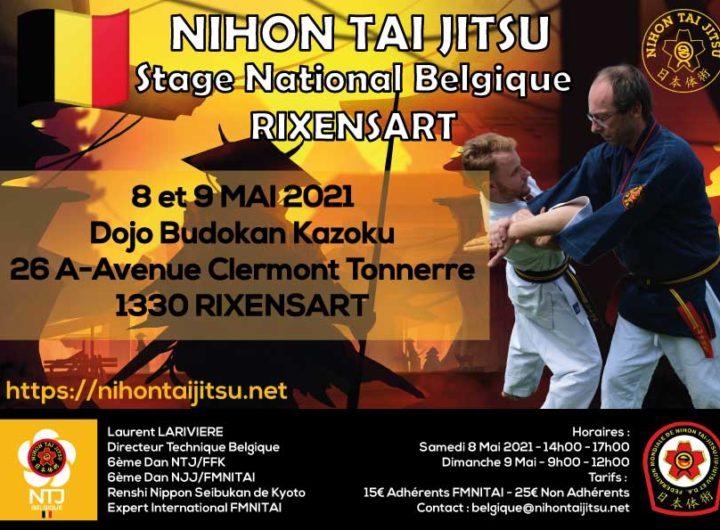 2021-05-8 et 9 Affiche stage Belgique bd